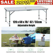 Portable Folding Table Picnic Party Camping Laptop Desk Outdoor Lightweight NEW