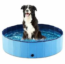 Jasonwell Foldable Dog Pet Bath Pool Collapsible Dog Pet Pool Bathing Tub Kiddie