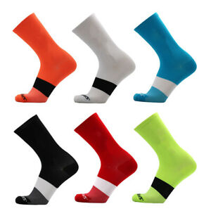 Men Quick Dry Sports Running Cycling Running Marathon Basketball Socks a Pair
