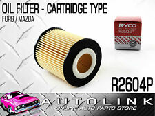 RYCO OIL FILTER CARTRIDGE R2604P FOR FORD ESCAPE WAGON ZB ZC ZD 2.3lt 4CYL