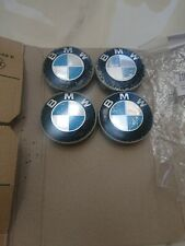 4 x BMW Wheel Centre Caps 68mm