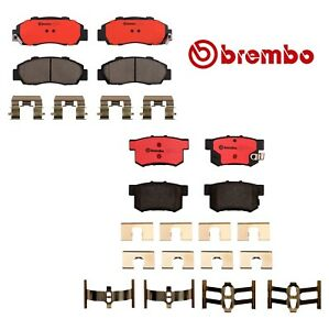 Brembo Front and Rear Ceramic Brake Pads For Acura Integra Honda Odyssey Isuzu