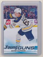 2019-20 Upper Deck #207 Victor Olofsson Young Guns Rookie Card