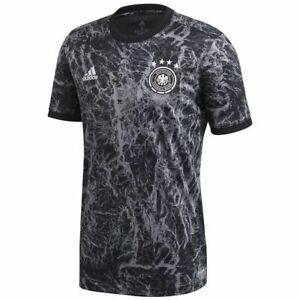 adidas Germany 2020 Elite Training Soccer Jersey Brand New Black - White