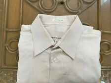 Pronto Uomo Slate Stone Mens Button Down Dress Shirt 100% Cotton 16 1/2. 34 35