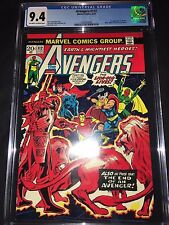 Avengers #112 CGC 9.4 - 1st Appearance Mantis - 1973
