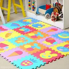 Hot Lovely Soft EVA Foam Yoga Fitness Puzzle Carpet Baby Kids Crawl Exercise Mat