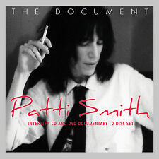 PATTI SMITH New Sealed 2017 COMPLETE BIOGRAPHY & INTERVIEWS DVD & CD BOXSET