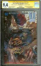 DARK KNIGHT III: THE MASTER RACE #7 CGC 9.4 WHITE PAGES