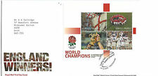 Royal Mail First Day Cover England RUGBY World Champions