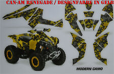 AMR Racing Graphic DECORO KIT ATV CAN-AM Renegade g1/g2 Modern CAMO merce in magazzino