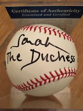 Sarah the Duchess of York Autograph Baseball with COA PSA/DNA