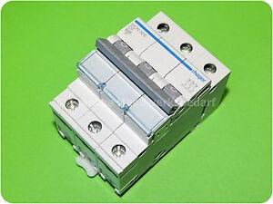 Hager MCN306 C 6 A 3-polig Leitungsschutzschalter