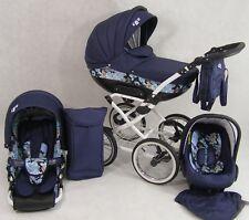 New Kombi Kinderwagen CLEO RETRO  3IN1 Babyschale +Autositz Buggy 18 Farben