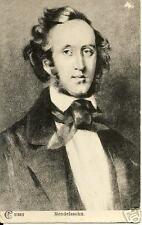 Mendelssohn on vintage postcard