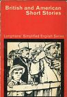 BRITISH AND AMERICAN SHORT STORIES 1967 Thornley