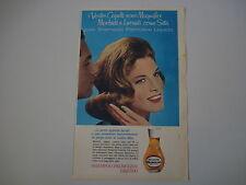 advertising Pubblicità 1963 SHAMPOO PALMOLIVE LIQUIDO