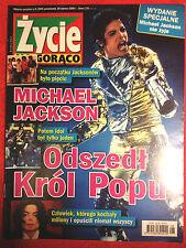 MICHAEL JACKSON ŻYCIE NA GORĄCO POLISH TRIBUTE MAGAZINE magazin mag