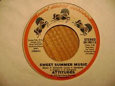 DARK HORSE 45 RECORD/ATTITUDES/ SWET SUMMER MUSIC/IF WE WANT TO/ EX  FUNK