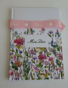Carnet bloc note publicitaire  Miss DIOR neuf Notebook new 2021