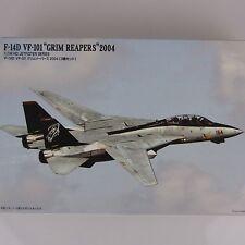 1:144 Micro Ace Tomcat F-14D VF-101 Grim Reapers 2004 US Navy 3 Jets selten rar