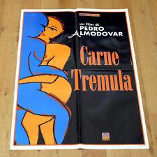 CARNE TREMULA manifesto poster affiche  Pedro Almodóvar Neri Javier Bardem