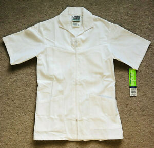 Landau Men's Zip Front Consultation Lab Coat - 1140 WWY Size 36 New With Tags