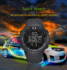 Herren Outdoor Multifunction Sports Digital LED Armbanduhren Uhr Diving 50M NEUE