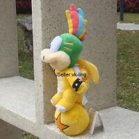 "Lemmy Koopa Ball Super Mario Bros Plush Toy Bowser Koopalings Lovely Doll 9"""