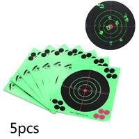5/10x cibles adhésif cibles autocollants chasse tournages 14 * 14cmRD
