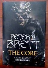 The Core by Peter V. Brett SIGNED 1st UK Ed, 1st Printing MINT in MT Dustjacket