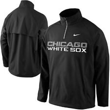 Nike NEW Mens Chicago White Sox Black Shield Corner Jacket 028950 Medium M $75