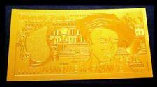 Billets de la banque française 50 francs, sur quentin de la tour