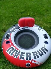 Intex One River Run I Inflatable Tube - 1 Person Rider Red & Gray