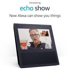 Amazon Echo Show (1st Generation) Smart Assistant - Black