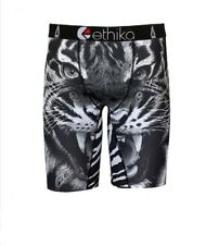 New Ethika Tiger King Print Men/Women Underwear Sports Shorts Boxer Pants Size L