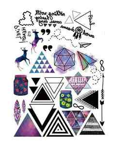personality waterproof temporary tattoos LC-877