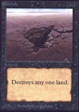 Beta Sinkhole x1 Heavy Play, English Magic Mtg M:tG