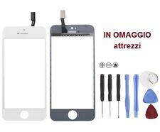 VETRO Originale + touchscreen touch screen per iPhone 5C BIANCO attrezzi omaggio