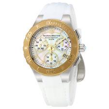 TechnoMarine Cruise Medusa Chronograph White Dial Ladies Watch 115089