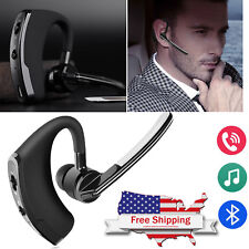 Wireless Bluetooth Headset Headphone Earbud with Mic for Samsung S9 S8 iphone X