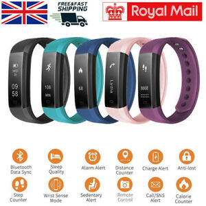 Fitness Smart Watch Activity Tracker Women Men Kids Android iOS Fit bit Style UK