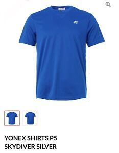 Yonex T Shirt P5 Skydiver/Silver (Asia 2XL= US L)