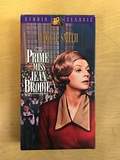 Prime of Miss Jean Brodie Motion Picture VHS 1969 Maggie Smith Drama Romance