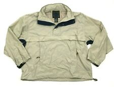 Vintage St John's Baie Taille Veste Taille L Anorak Coupe-Vent Pull 90s