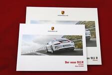 Porsche 911R (991) Katalog / Prospekt + Preisliste - SUPER RAR
