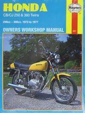 Haynes Manual 0291 - Honda CB250G5 75-76,CJ250/360T 76-77, CB360G5 73-77