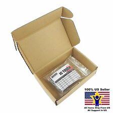 10value 100pcs Polyester poly Film Capacitor Kit 100V ±5% US Seller KITB0013
