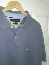 Mens TOMMY HILFIGER 40's Two Ply Cotton Polo t shirt. Size XXL / 2XL