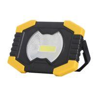 1X(50W Portable Spotlight Solar Light Led Work Light USB Rechargeable FlashJ8F1)